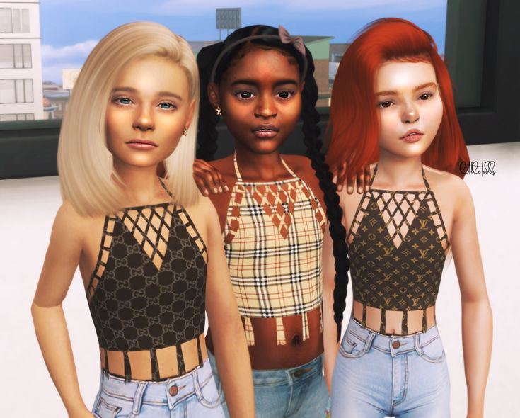 Designer tops 3 swatches Island living required Download SFS Hair conversations …