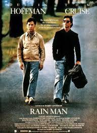 Rain Man est un film réalisé par Barry Levinson en 1988. A la mort de son père, Charlie Babbitt, homme d'affaires pressé, hérite d'une vieille Buick qu'il convoitait depuis longtemps mais se voit spolié de quelque trois millions de francs versés à l'Institution psychiatrique Wallbrook au profit d'un bénéficiaire anonyme. Charlie se rend a Wallbrook et découvre l'heureux bénéficiaire. Il s'agit de Raymond, savant autiste, celui qu'il appelait dans son enfance Rain Man, qui représente ses…