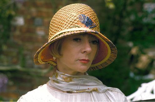 Lucia, portrayed by Geraldine McEwan in the wonderful BBC series Mapp and Lucia