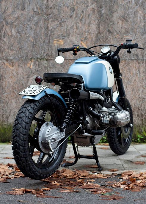 """BMW R80 """"Spandau"""" by Fugar Metal Worker - Ancona, Italy"""