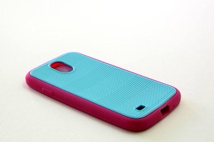 OEM Θήκη Δίχρωμη Σιλικόνης (case) - Γαλάζιο Ρόζ (Samsung s4) - myThiki.gr - Θήκες Κινητών-Αξεσουάρ για Smartphones και Tablets - Χρώμα γαλάζιο - ροζ