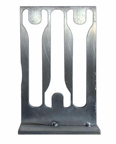 Aluminum Industrial Sculpture on Chairish.com