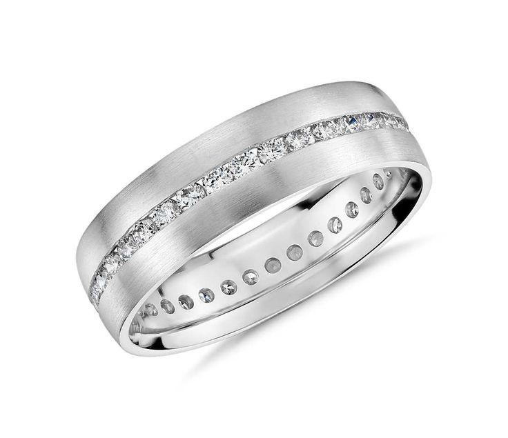 New Channel Set Diamond Eternity Ring in Platinum mm