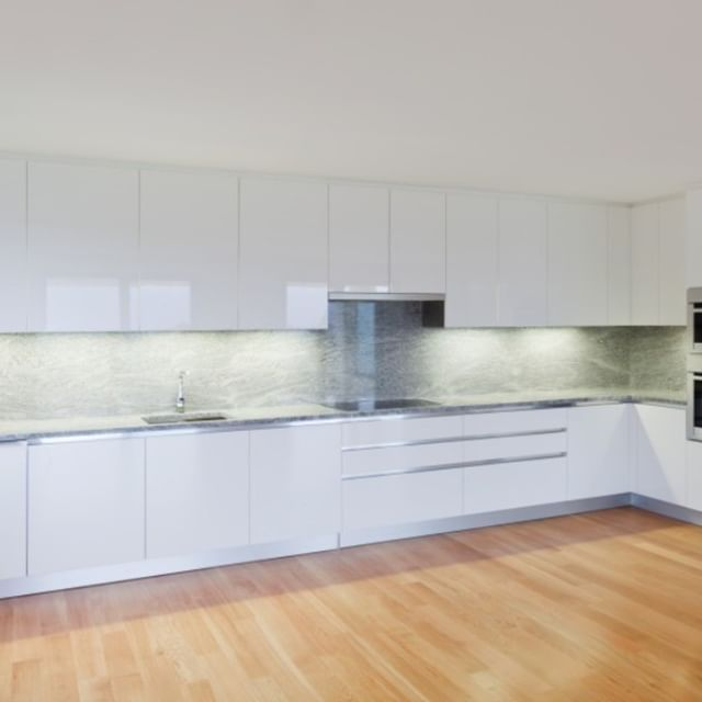 Some Things Are Just Timeless White Kitchens For Example This Is High Gloss Lacquer Ral 900 Kitchen Flooring White Kitchen Inspiration Modern Kitchen Design