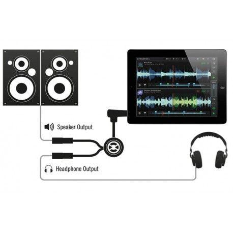 PRO AUDIO, LIVE SOUND & DJ,EQUIPO PROFESIONAL PARA DJ'S,ACCESORIO PARA DJ - NATIVE INSTRUMENTS 018753 - NATIVE INSTRUMENTS TRAKTOR DJ CABLE - ACCESORIO PARA DJ Cable de monitorización sin interface de audio. Para Traktor DJ y Traktor PRO. Funciona en iPad, iPhone y ordenadores portátiles. También es compatible con otras aplicaciones de DJ. No necesita drivers de ningún tipo para funcionar. Se pierde el estéreo. Envía una señal mono hacia los auriculares y otra hasta el equipo de sonido.