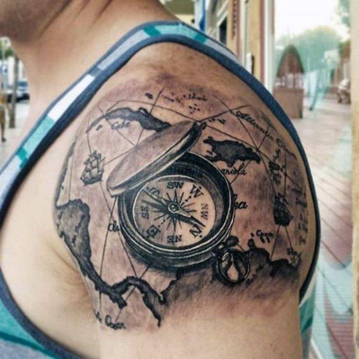 Top Shoulder Tattoo for Men