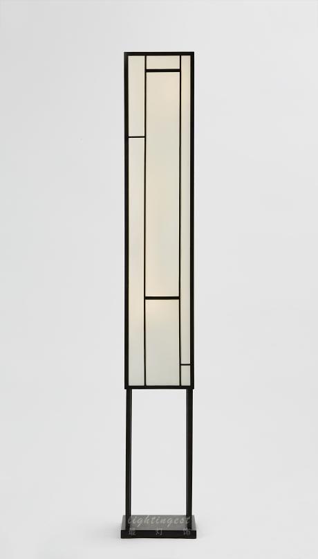 【Lightingest】Zen Chinese style Floor lamp【最灯饰】5月新品禅意新中式设计师样板房客厅餐厅茶室落地灯