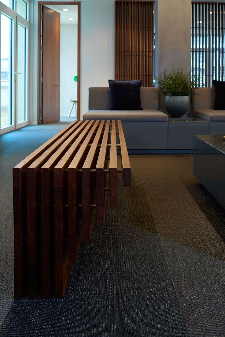 Bespoke Joinery Design -Robinson van Noort - Contemporary Commercial Design, London - Luxury Office, London