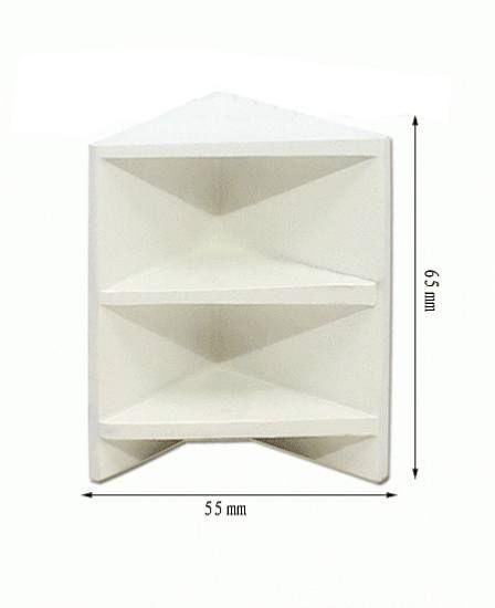 Repisa esquinera blanca #casasdemuñecas #miniaturas #miniatures #dollhouses #dollhouse #miniature https://www.tiendadecasitas.com/producto/6599/tc0984-repisa-esquinera-blanca