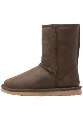 CLASSIC SHORT - Stiefelette - dark brown