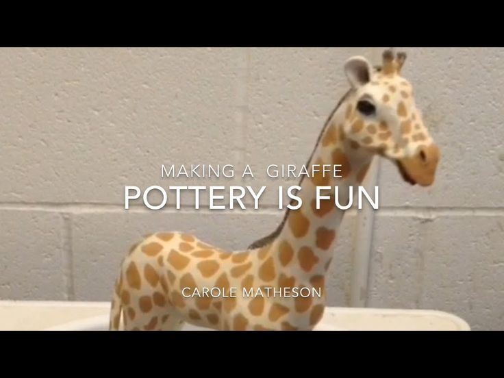 Best Pottery Animals Out Of Clay Images On Pinterest Pottery - Sporting clay window decalsgiraffe garden statue giraffe clay pot clay pot animal