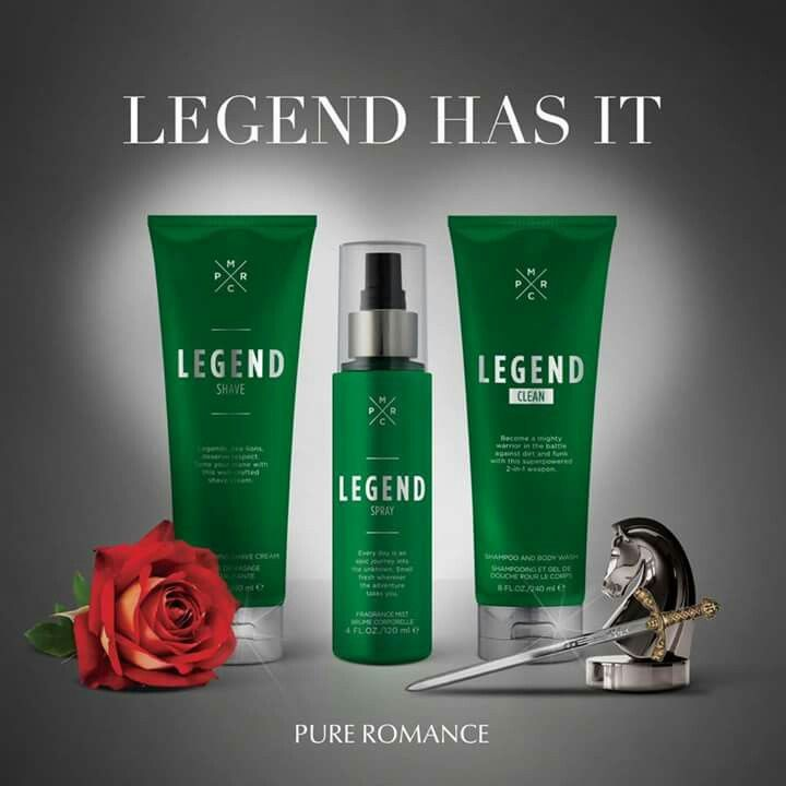 Let Him be Legendary! Check out our amazing mens products. Visit my website, pureromance.com/cassiaashton or follow me on Facebook at Pure Romance by Cassia Ashton