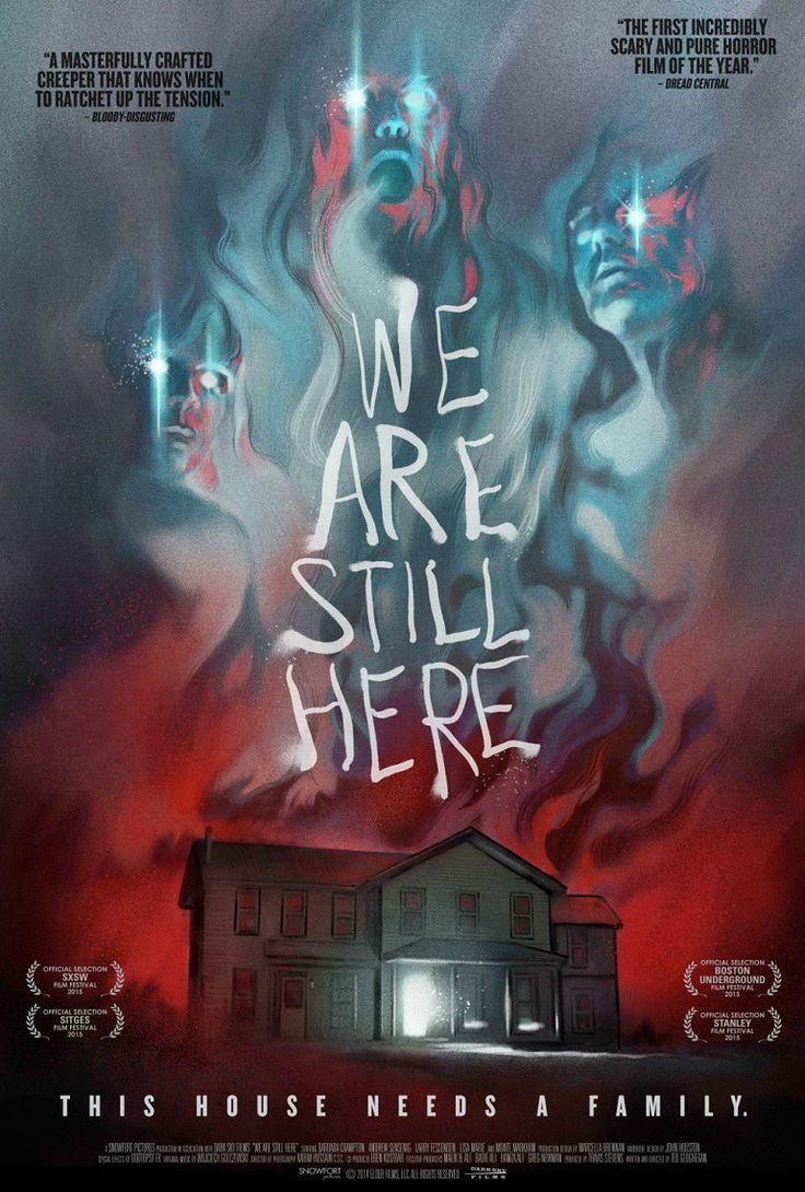 """Δωρεαν Ταινιες - We Are Still Here (2015) Η υπόθεση ακολουθεί τους Paul (Andrew Sensenig) και Anne (Barbara Crampton) που θα μετακομίσουν στην ήσυχη εξοχή της Νέας Αγγλίας για να ξεκινήσουν μια νέα ζωή μετά από το θάνατο του έφηβου γιου τους σε αυτοκινητιστικό ατύχημα. Εκεί όμως θα γίνουν τα θύματα εκδικητικών πνευμάτων που μένουν στο νέο τους σπίτι...  Συνδεσμος Προβολης : http://www.tinylinks.co/CZoke Στη σελίδα που σας ανοίγει πατάτε το """"SKIP AD"""" πάνω και δεξιά"""
