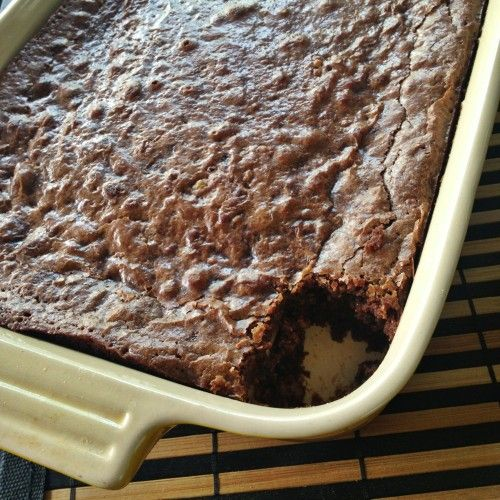Love to be prepared for gluten-free company. How to make Chocolate Brownies Gluten-Free! ReluctantEntertainer.com