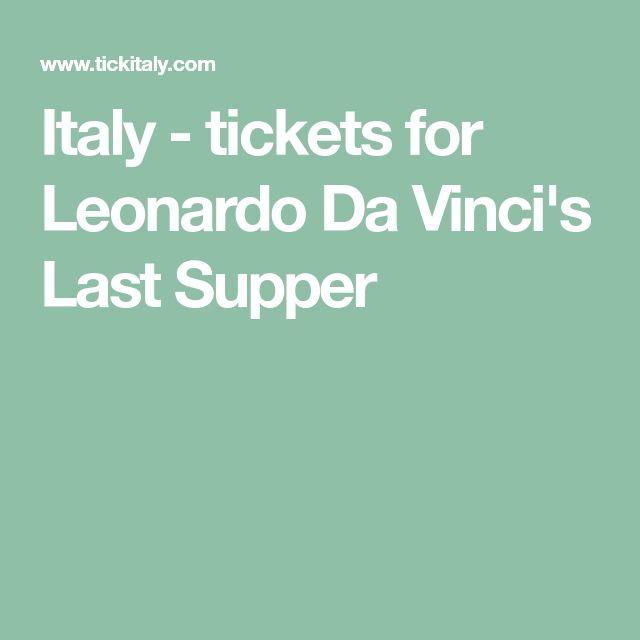 The 25 best Da vinci last supper ideas on Pinterest