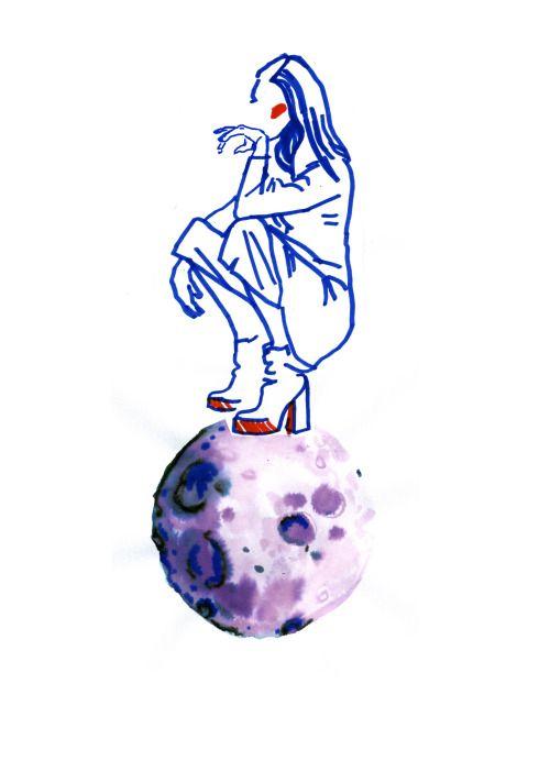 Little Princess -fashion illustration (Who run the world?Girls!)