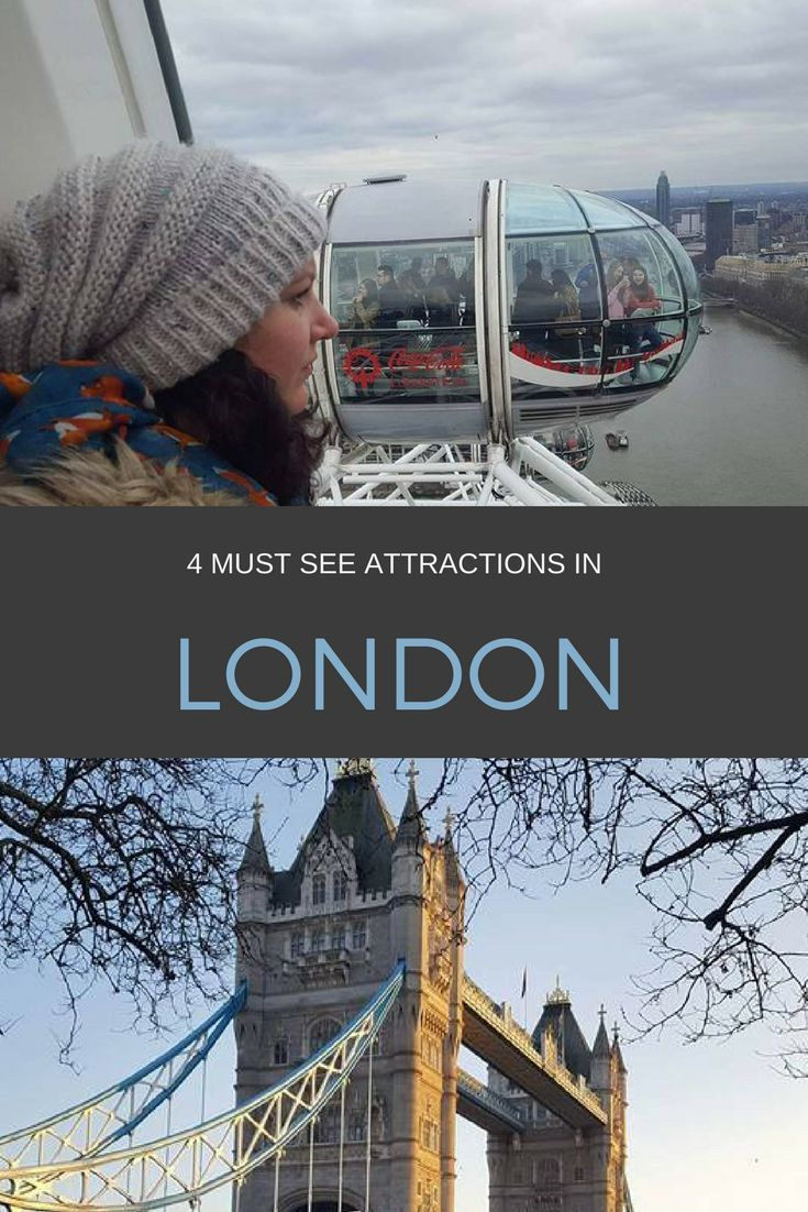 Four must-see attractions in London including the London Dungeons, the Tower of London, London Eye and Tower bridge littleadventuresnz.com