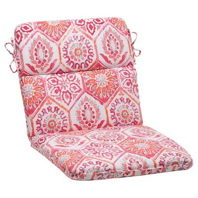 Outdoor Rounded Chair Cushion - Medallion