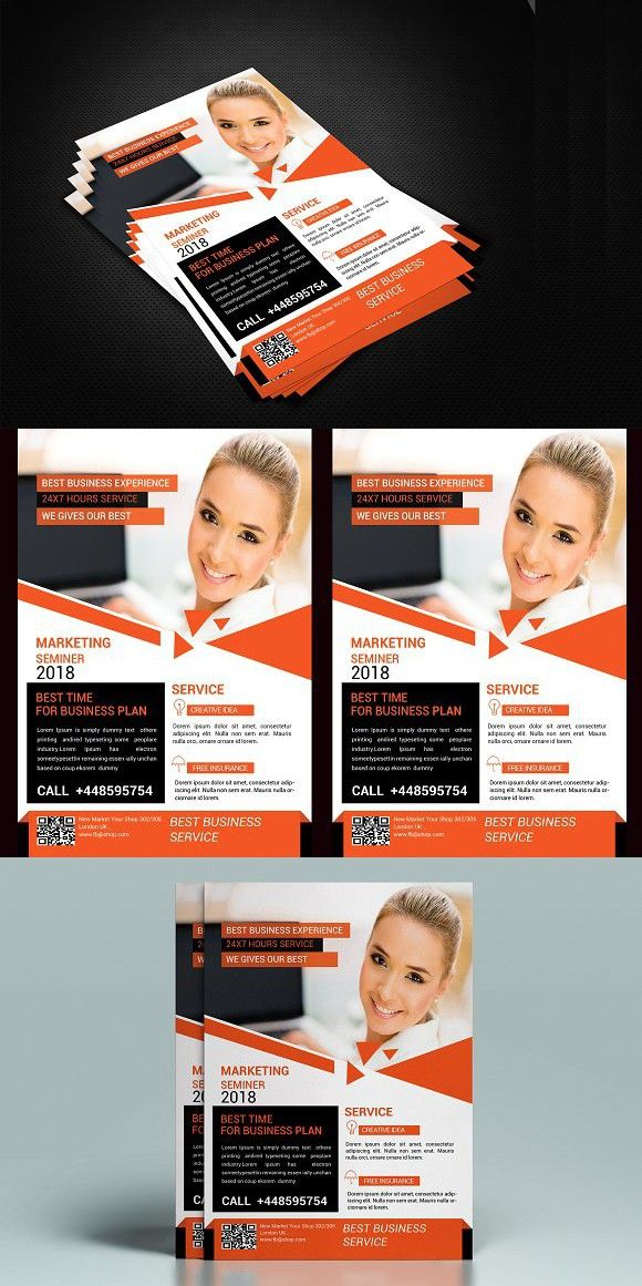 Creative Business Flyer Corporatebusinessflyer Businessflyer