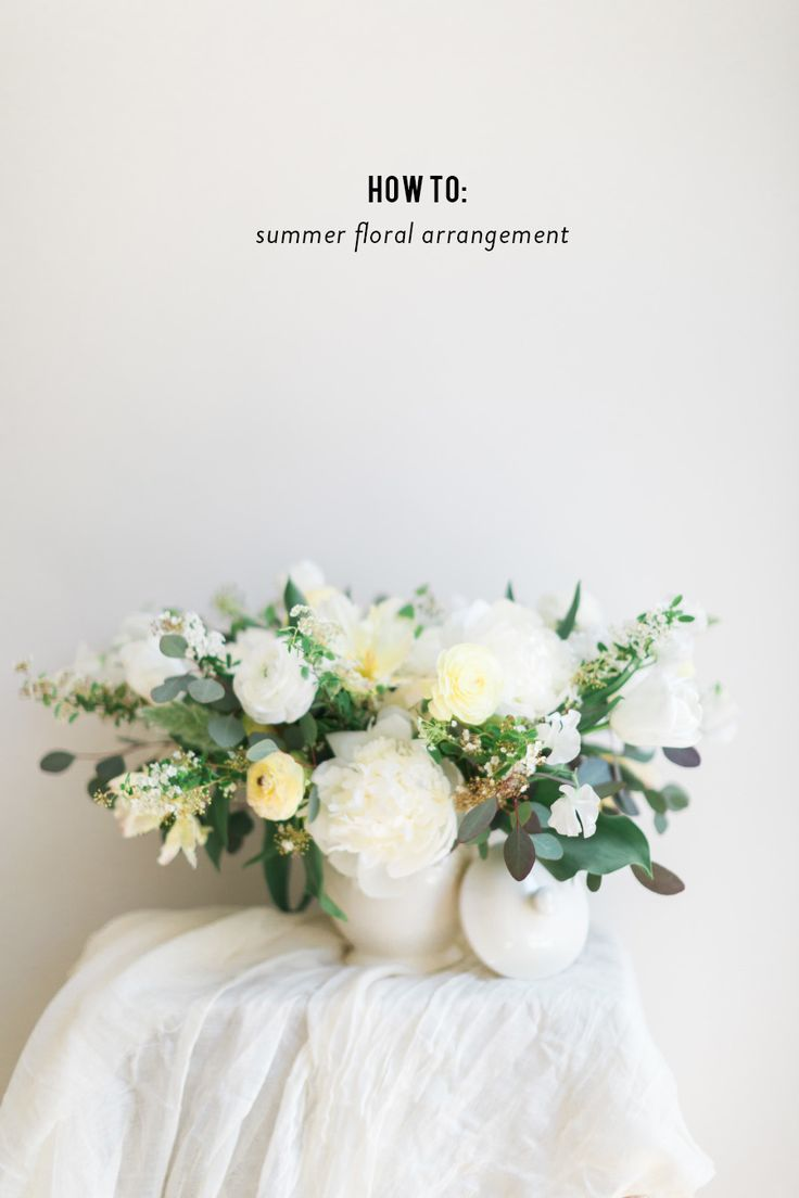 Photography: Cadence Kennedy Photography - www.cadencekennedy.com  Read More: http://www.stylemepretty.com/living/2015/05/19/simple-summer-floral-arrangement/