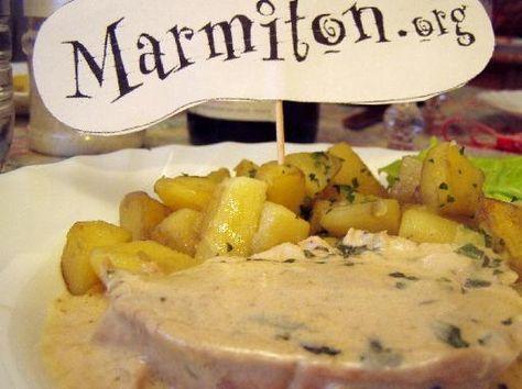 Rôti de dinde au four - Recette de cuisine Marmiton : une recette