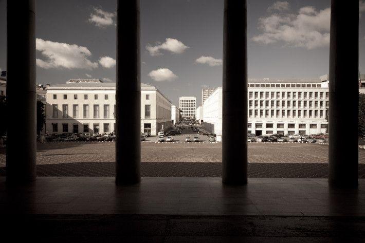 Palazzo dei Congressi di Roma, 1937-1943 e 1952-1954, Adalberto Libera.