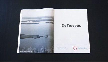 SEK Designin Ville Granrothin suunnittelema koostevideo Matkailun edistämiskeskukselle. Inuit toteutti leikkauksen ja animaatio. Äänituotanto: Dictum ja Bighouse.