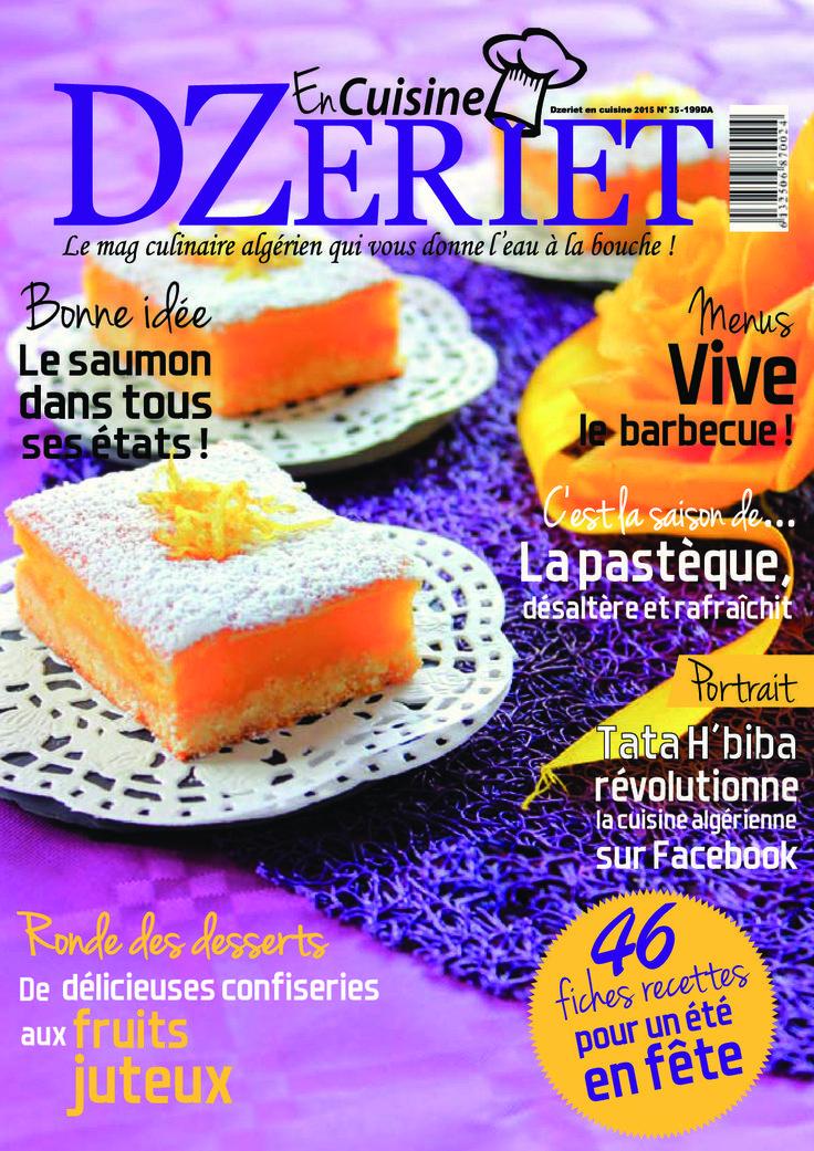 Dzeriet En Cuisine (Fr) N°35 - Kioscom