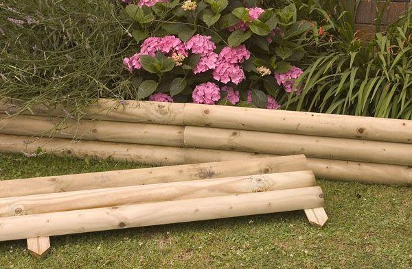 marvellous wooden garden border edging 10