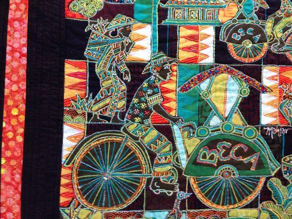 Batik Art Quilt Indonesian Batik Art Quilt Small Art Quilt