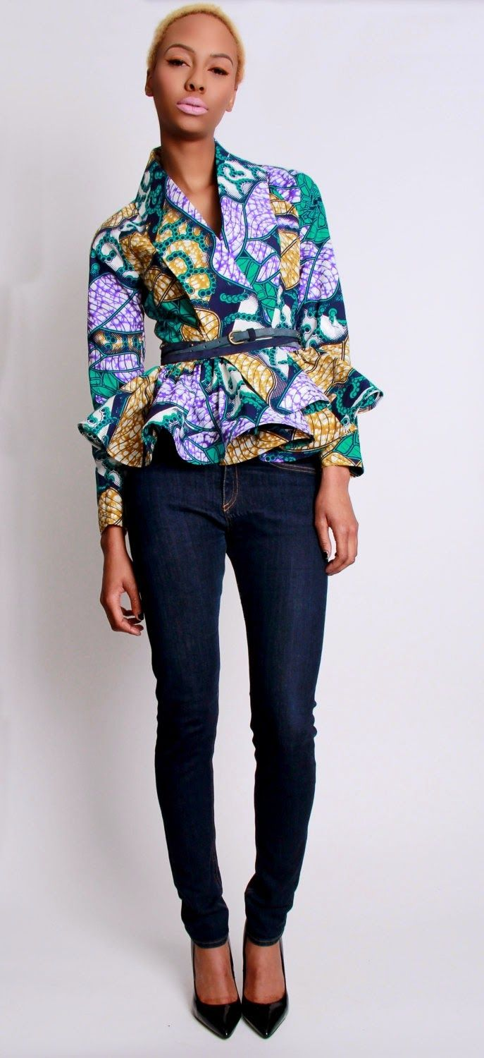 I Want that Whole Look: Afrocentric Fashion