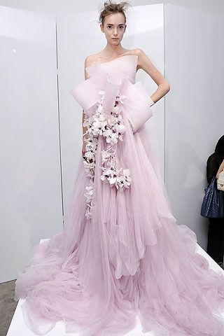 Marchesa: Wedding Dressses, Marchesa Spring, Pink Wedding Dresses, Fashion Clothing, Princesses Style, Fashion Week, Gowns, Purple Wedding, Haute Couture