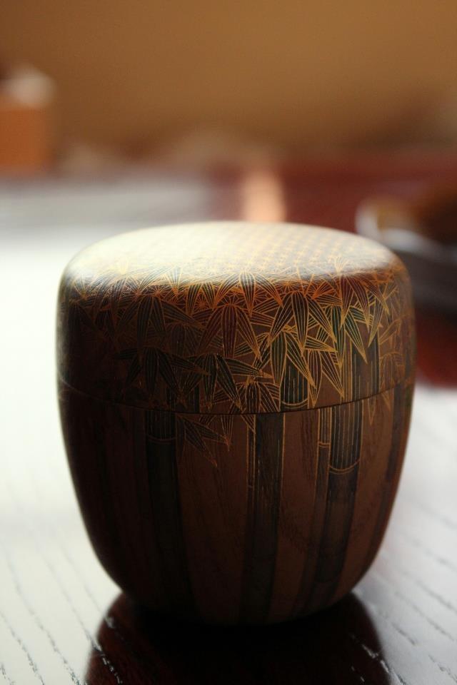 Japanese tea caddy  **A work of art*