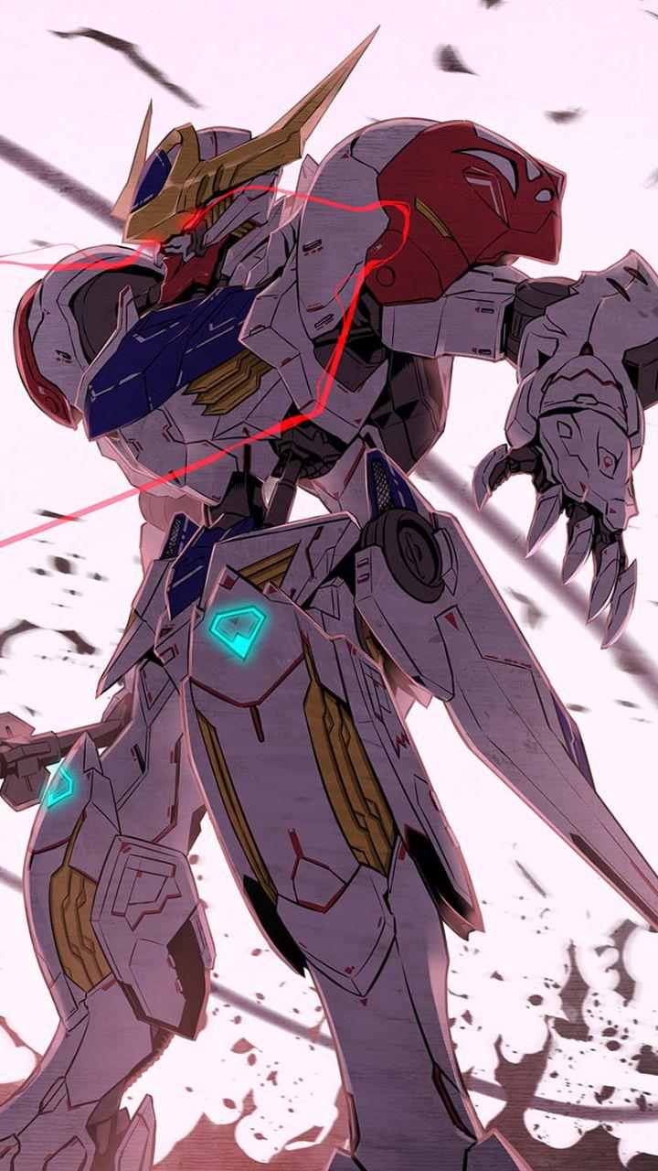 Gundam Barbatos Lupus Gundam Gundam Wallpapers Gundam Iron Blooded Orphans