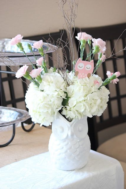 Wright By Me: Pink Owl Baby Shower or a different twist for bridal shower!?