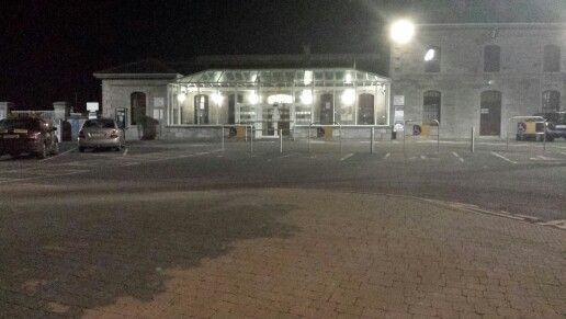 Train Station entrance