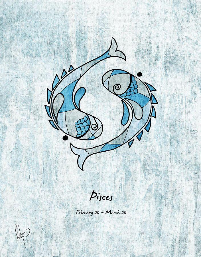 Image result for pisces art zodiac