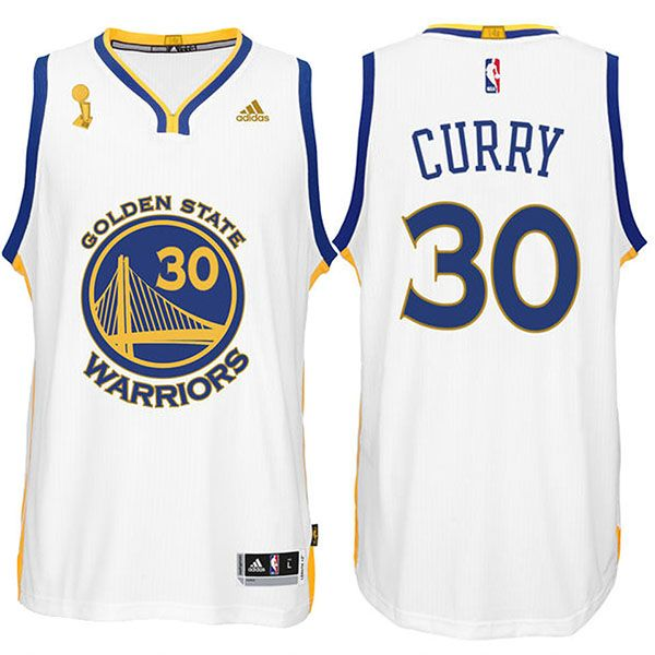 003903d18b1 ... Buy Golden State Warriors Stephen Curry 2015 NBA Finals Champions New  Swingman White Jersey Online from ...