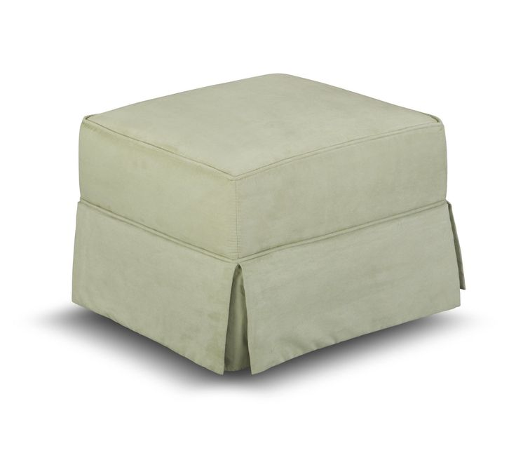 Features:  -Regal Grande collection.  -Cushions material: 100% Microfiber.  -Cushions are soft to the touch.  -Ottoman is stationary and does not glide.  -Spot cleanable.  -Matching upholstered swivel