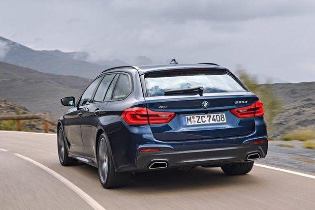 Novo BMW Série 5 Touring (Foto: Divulgação)
