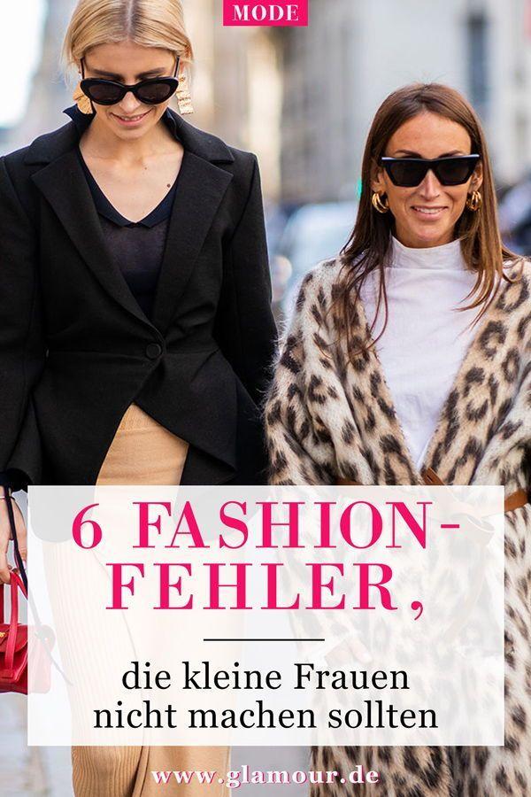 Kleine Frauen 6 Styling Fehler Die Sie Nicht Machen Sollten Modefurkleinefrauen En 2020 Mode