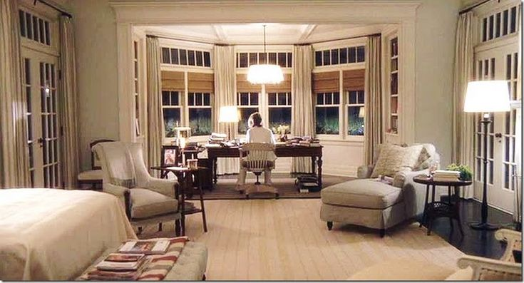 Something's Gotta Give Movie Set. I loved the movie and am made over the interior style of this house.