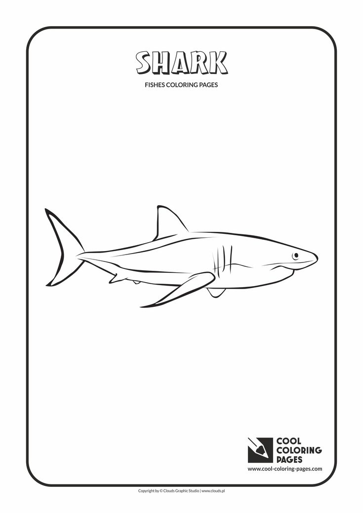 Pinterestteki 25den Fazla En Iyi Shark Coloring Pages Fikri