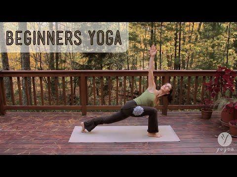 Beginner's Yoga Routine ♥ Graceful Strength - YouTube