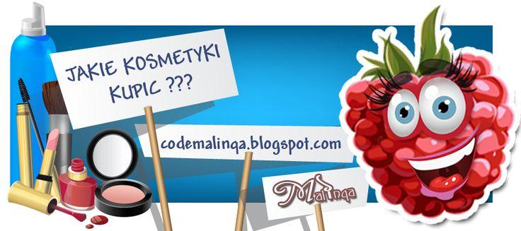 http://codemalinqa.blogspot.com/  Recenzje kosmetyków znanych marek z całego świata ZAPRASZAM DO WSPÓLNEJ ZABAWY ŚWIATEM KOBIECYM.. dołącz do nas