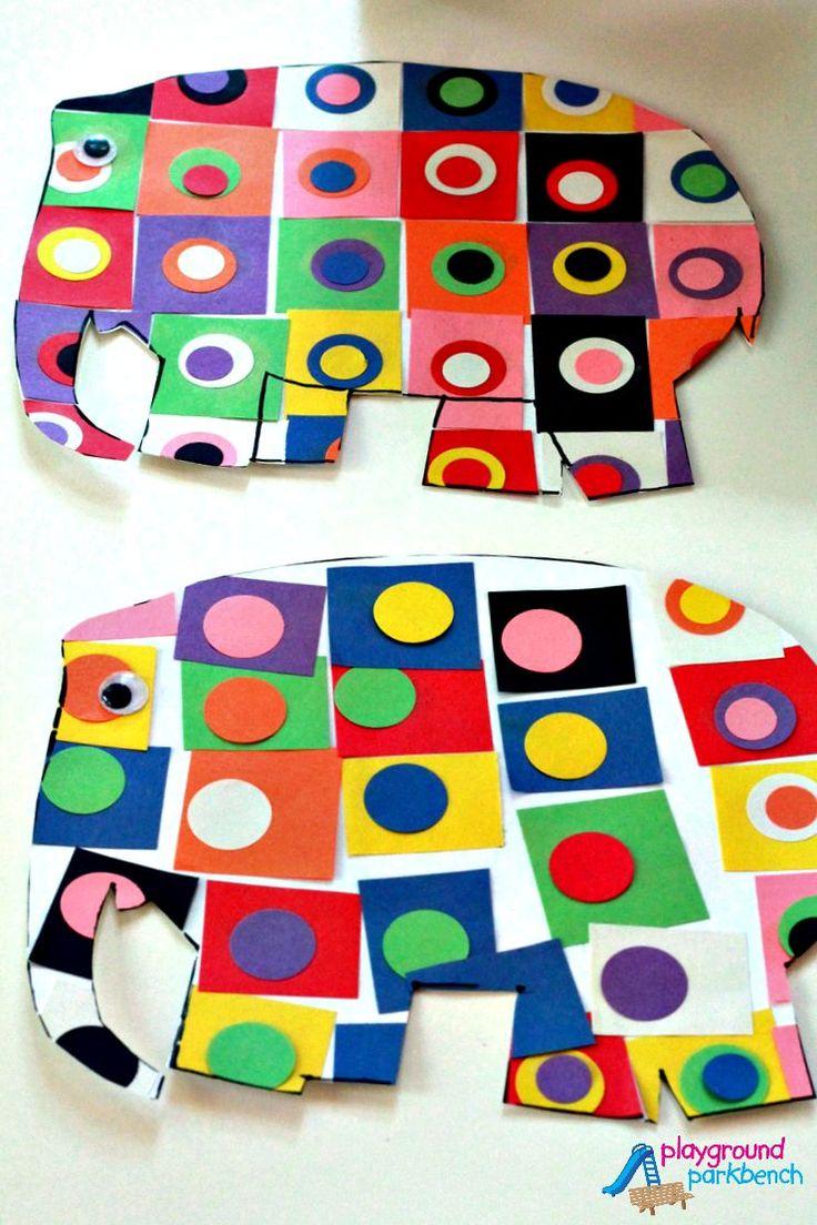 Elmer Meets Kandinsky - Famous Artists for Preschool