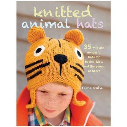 Knitted Animal Hats - Fox Collection