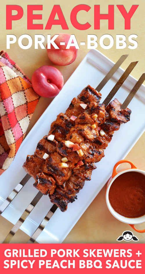 Peachy Pork-A-Bobs | 27 Delicious Paleo Recipes To Make This Summer