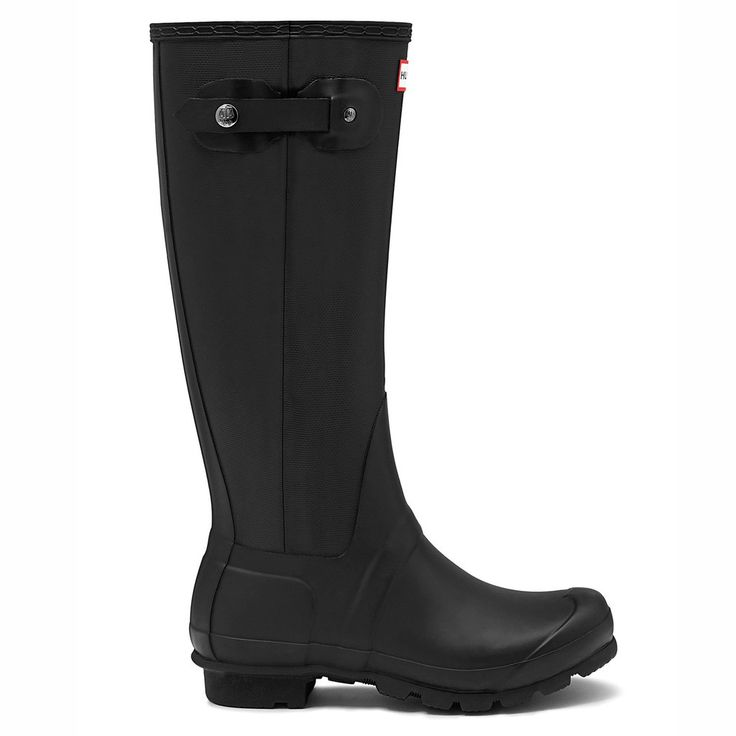 Slim Zip - Textured - Black – Hunter Boots Australia
