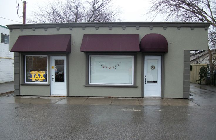 Quarterball and Traditional stationary awnings